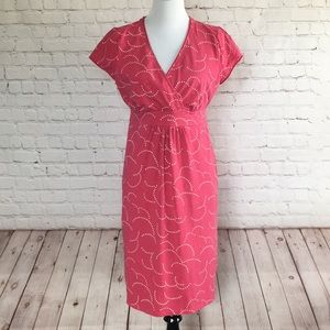 Boden Pink Casual Jersey Dress 14P